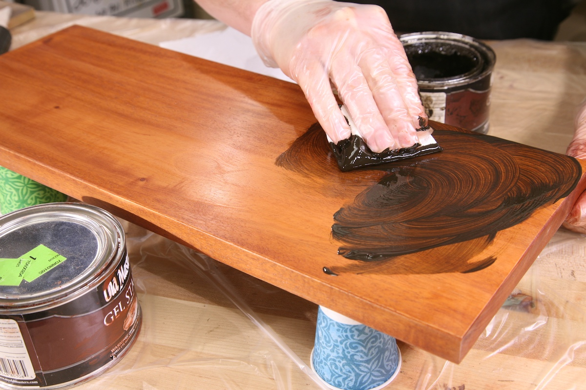 how to make birch look like maple clear polyurethane