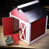 Little Red Book Barn by Dr. Clyde Perry