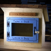 Little Yellow Free Library by Wes, Laura & Maya Crisp
