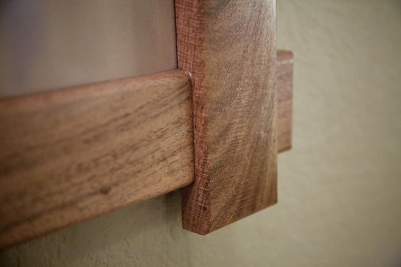 Woodworking Project Making A Mesquite Picture Frame