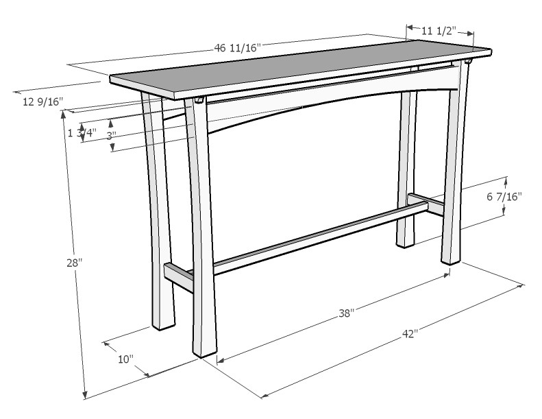 3 steps you should use to figure out board feet for a for Table design sketchup