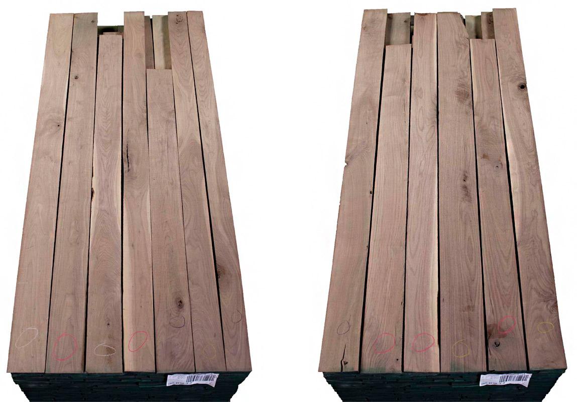 Walnut Lumber FAS Grade