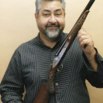 "Jose Valencia, author of ""Carving Gunstocks"""