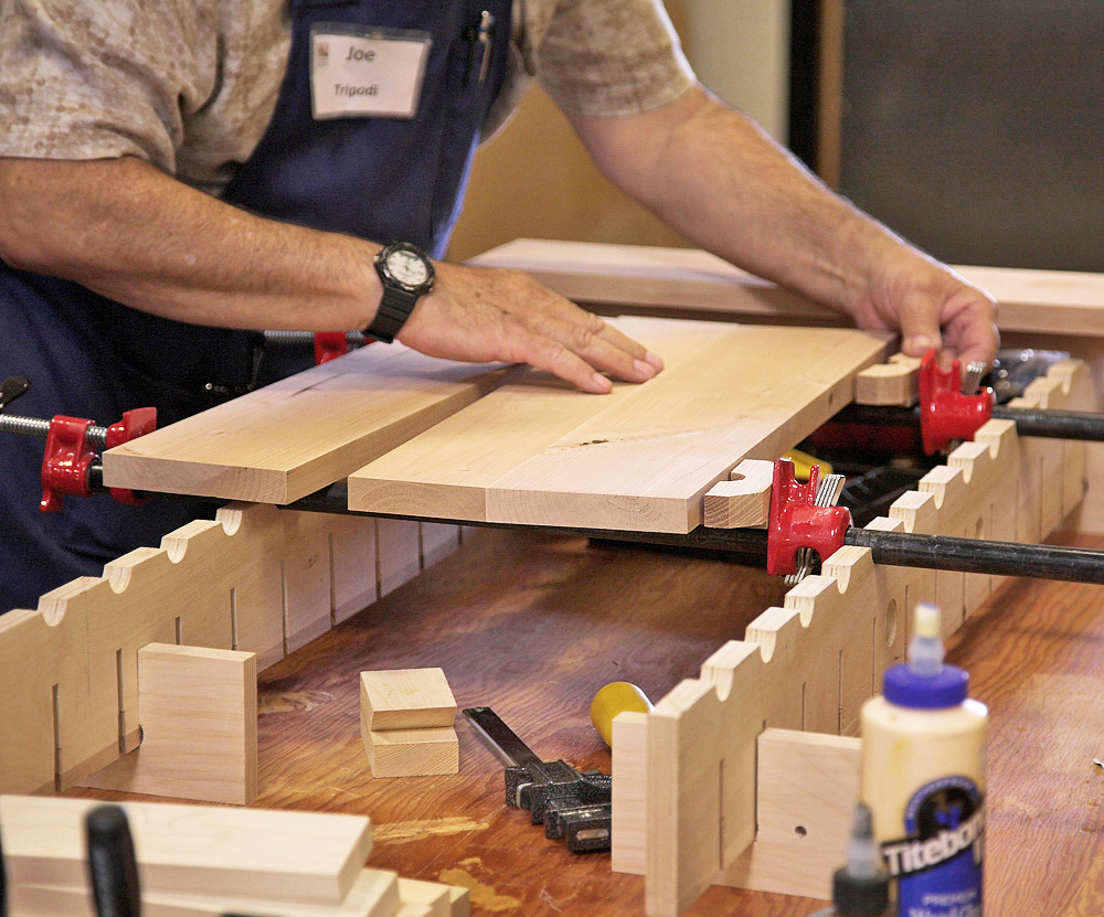 How To Improve Your Solid Panel Glue Ups Woodworkers