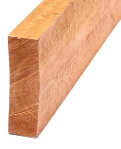 rough hardwood lumber board