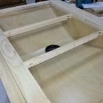 down draft sanding table