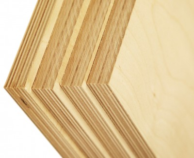 Baltic birch plywood is unique because of it's all-birch veneer core that's cross-banded and laminated with exterior grade glue, making for a superior stable sheet good. It also has a thicker face veneer than traditional cabinet grade plywood.