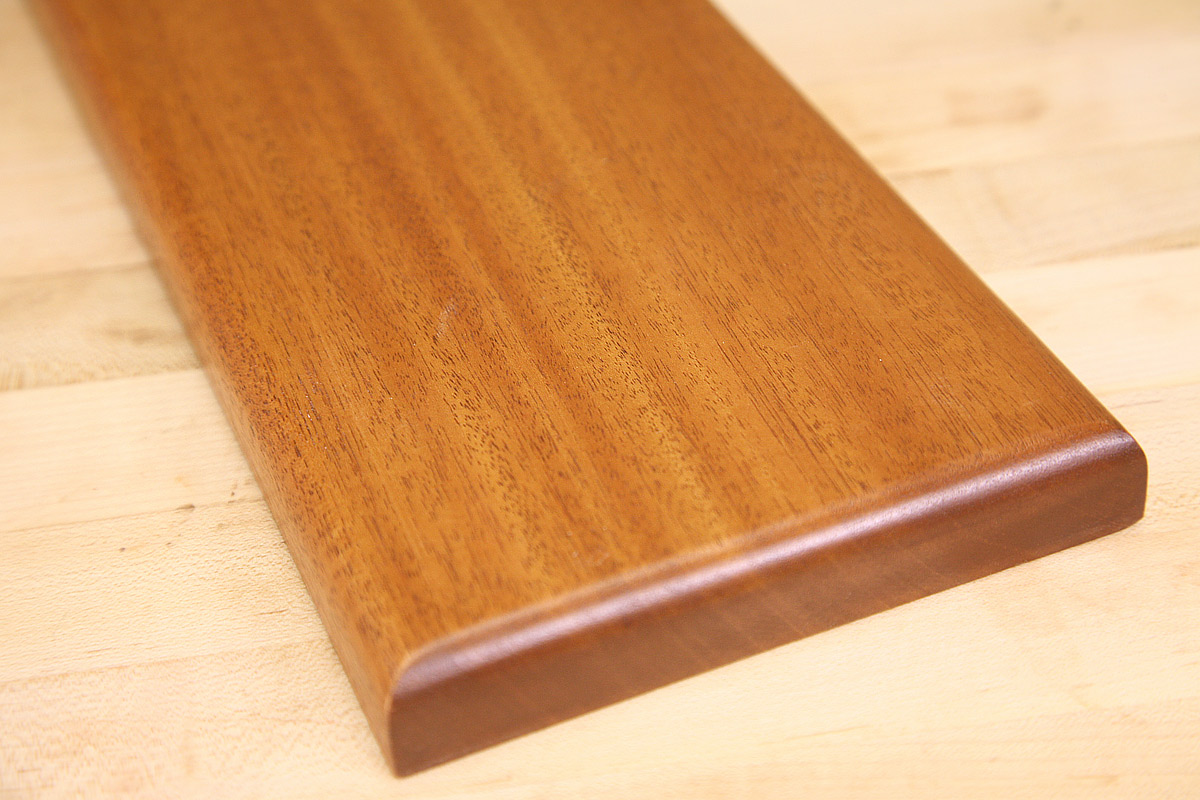 Brown tone than maple stain this color works well on wood without - Staining Mahogany The Right Way
