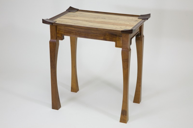 2ND Place Winner -- Barry Richardson designed his own Asian-inspired table