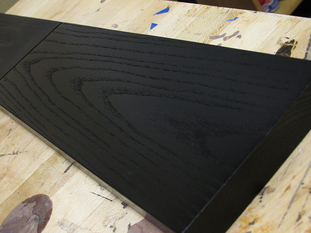 Ebonizing ash the easy way for woodworking projects