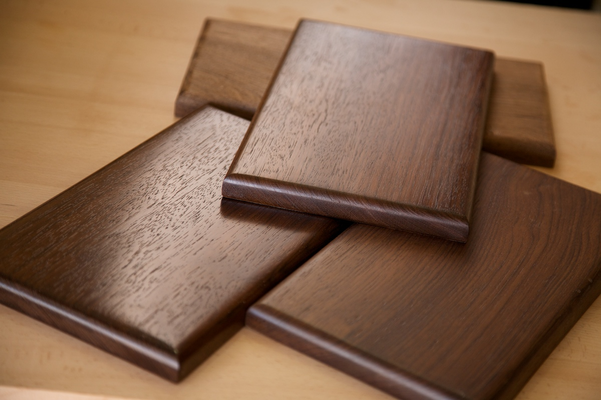 How to Get a Beautiful Wood Finish on Your Tropical Walnut Woodworking Projects – Woodworkers ...