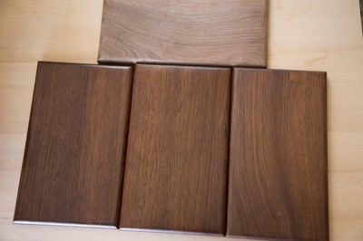 tropical walnut finishes