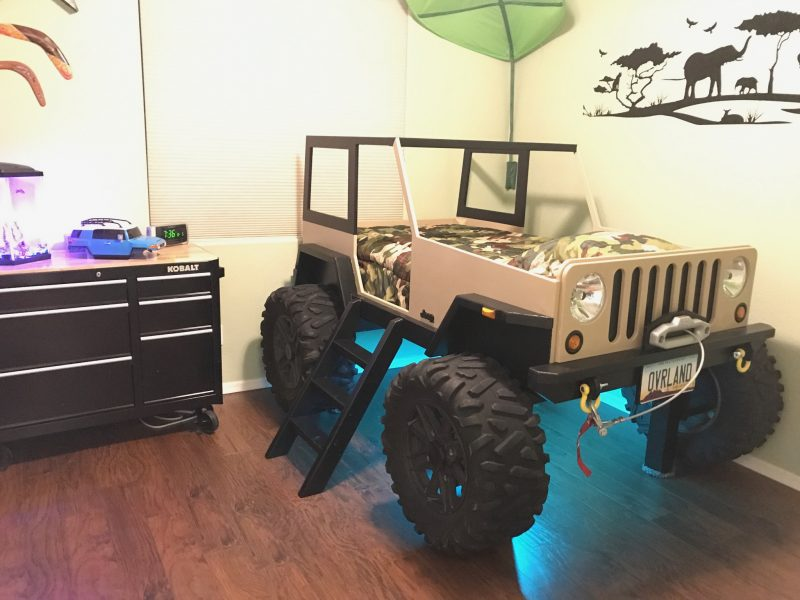 jeep bed for kids