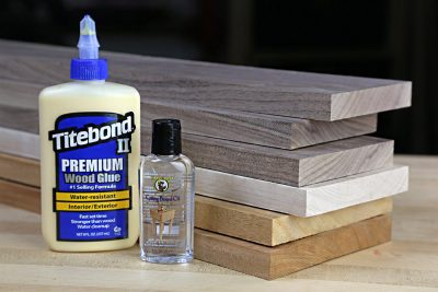 hardwood cutting board kit