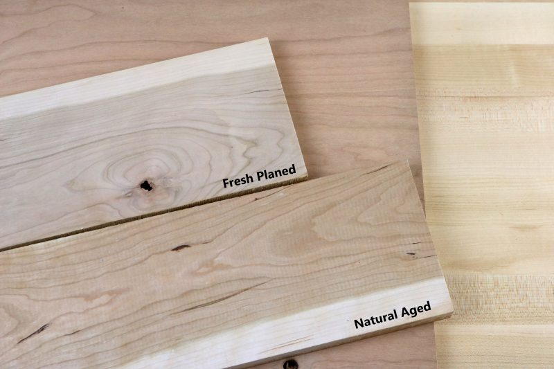 Natural Cherry Wood Boards