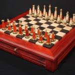 Padauk Chess Set