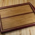 Purple Heart Cutting Board by Michael Tennant