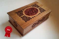 Walnut Keepsake Box