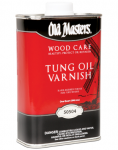 Tung Oil Varnish blend is what I used in this tutorial.