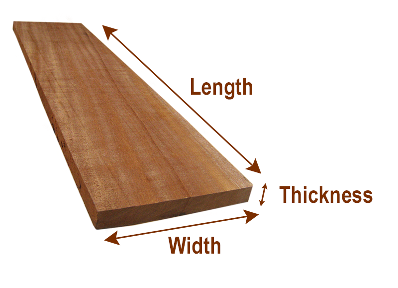 Board Foot Calculations - GBS Woodworking