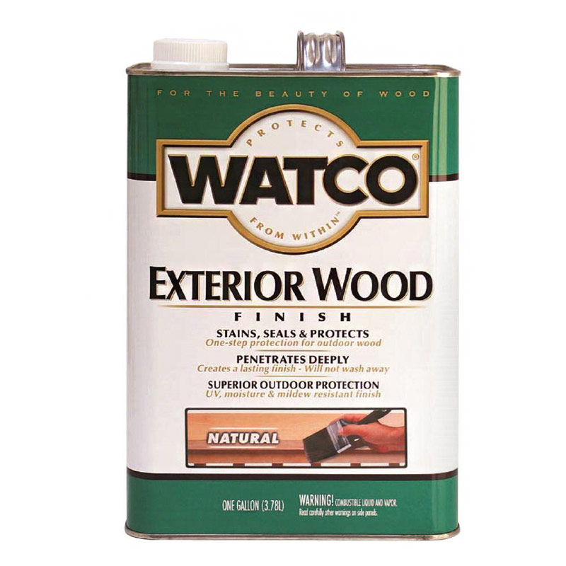 exterior wood oil finish