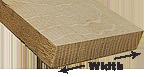 lumber widths