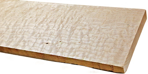 Maple Lumber Wood Slab Quilted Maple Board