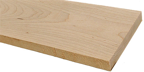 Soft Maple Lumber Wood, Acer Rubrum Lumber For Woodworking