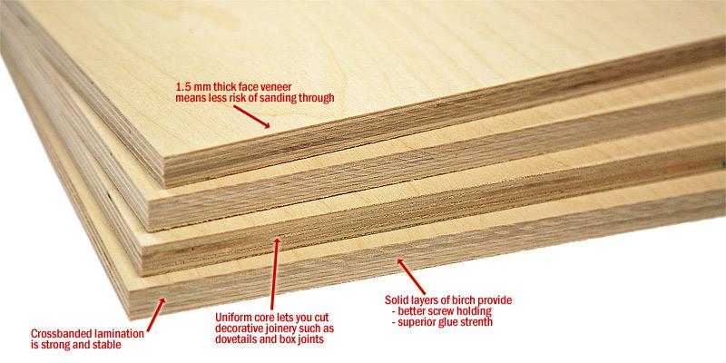 Birch Plywood Cabinet Making