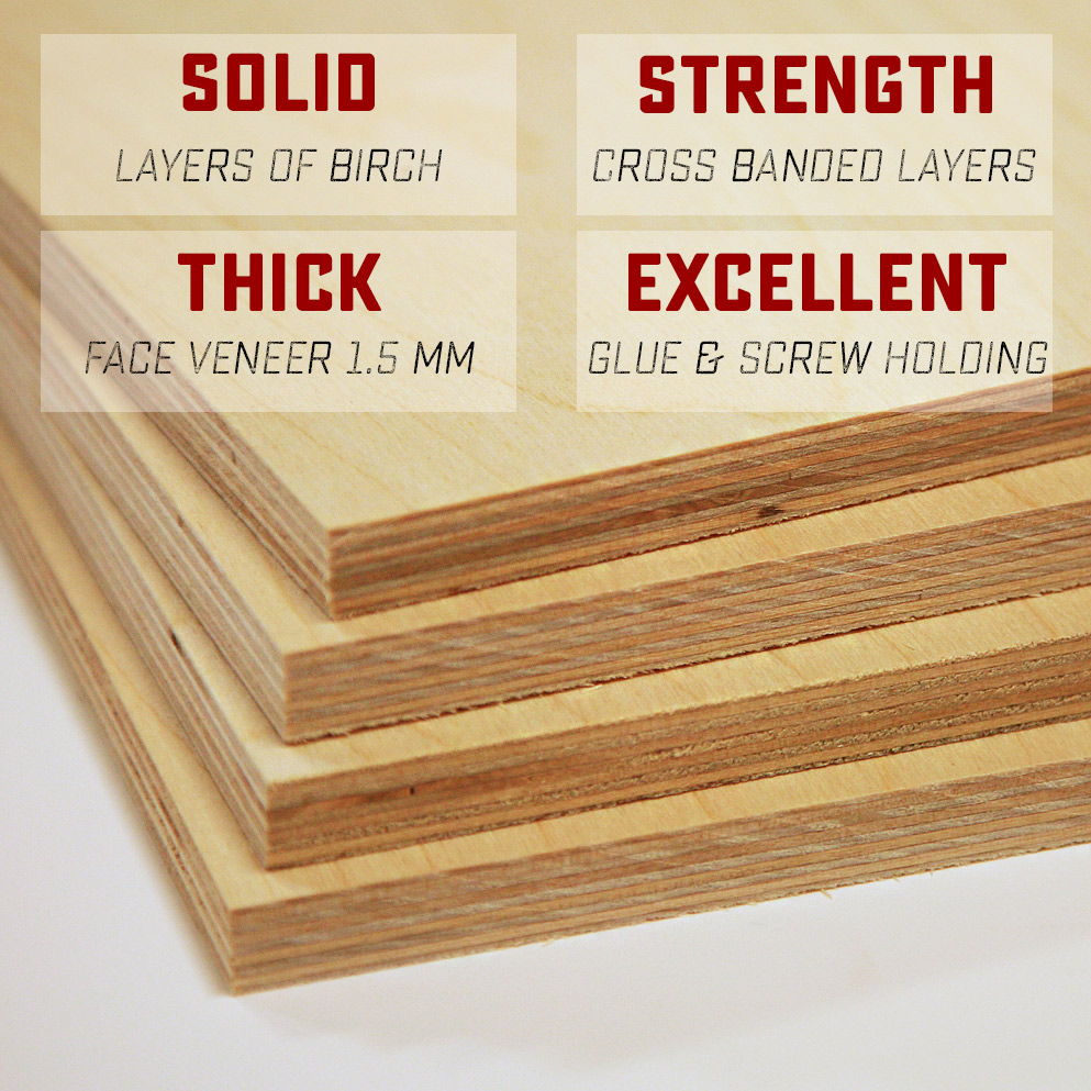 Baltic Birch Plywood Woodworkers Source