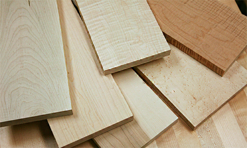 Maple Lumber on sale for woodworkers