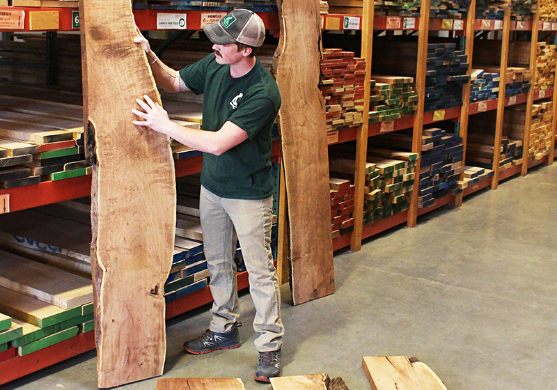 All current lumber and wood specials on sale for woodworkers