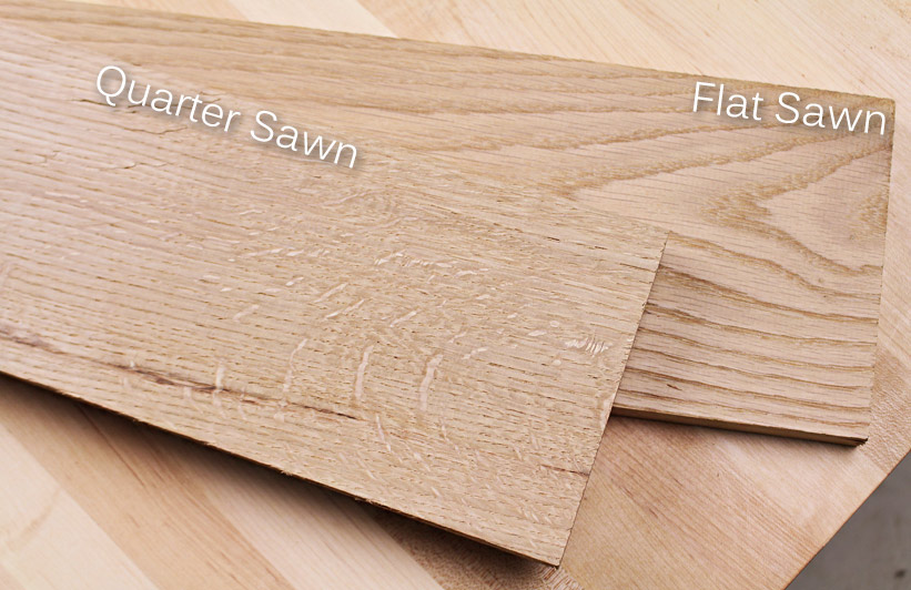 White Oak Lumber on sale for woodworkers
