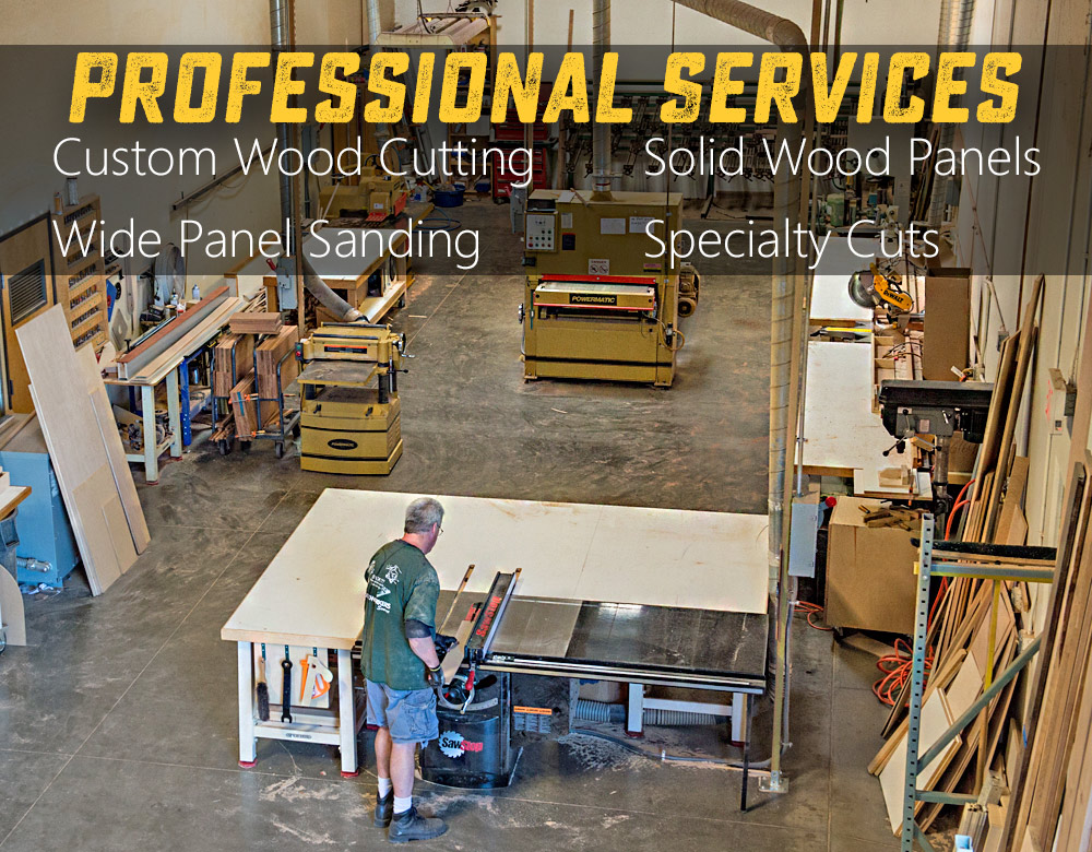 Custom Wood Cutting Sanding Planing  Milling at Woodworkers Source