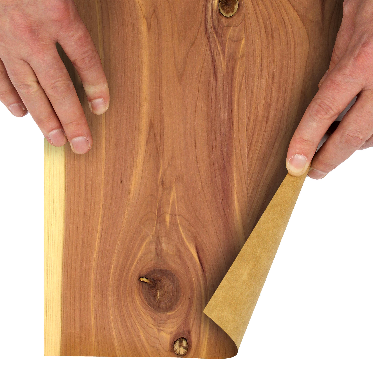 Cedar Aromatic Paper Back Veneer Sheet 2 x 8 Roll Woodworkers