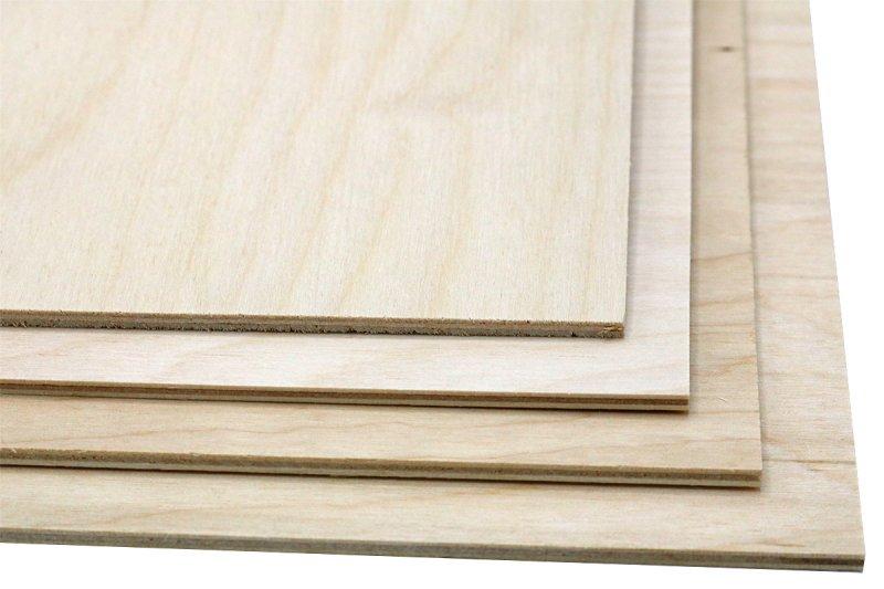 40 sheets nominal 3mm sheets Baltic Birch Plywood 12 x 12 1//8