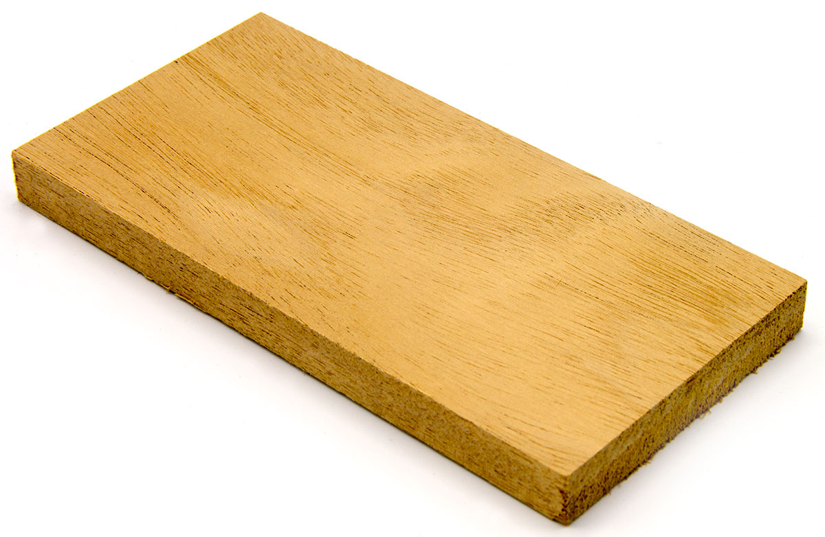 Mahogany Genuine Hardwood Sample 1 2x3x6