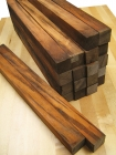Goncalo Alves Cutting Board Pack: 20 Squares 1.5'' x 1.5'' x 30''