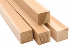 Hickory Cutting Board Strips