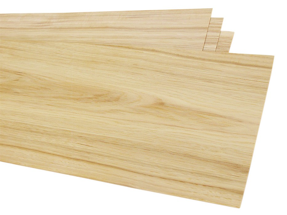 "Hickory Veneer Pack 7 sq. ft.: 4 pcs, 8"" x 32"""