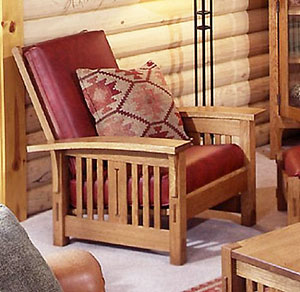 Arts And Crafts Morris Chair Mission Style Woodworking Plan