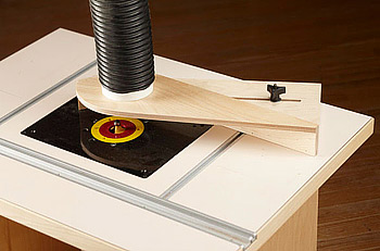 Router Table Dust Hood Woodworking Plan Woodworkers Source