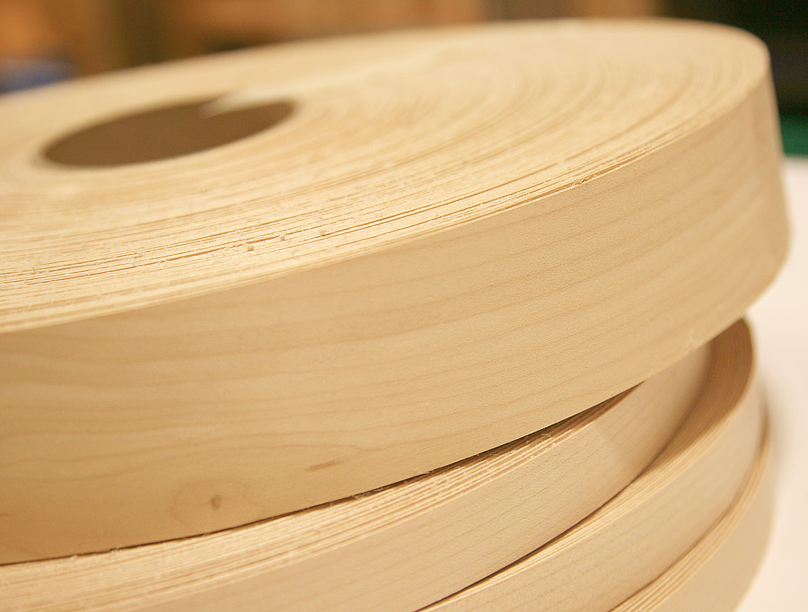Birch Wood Edge Tape 2 X 25 Roll Woodworkers Source