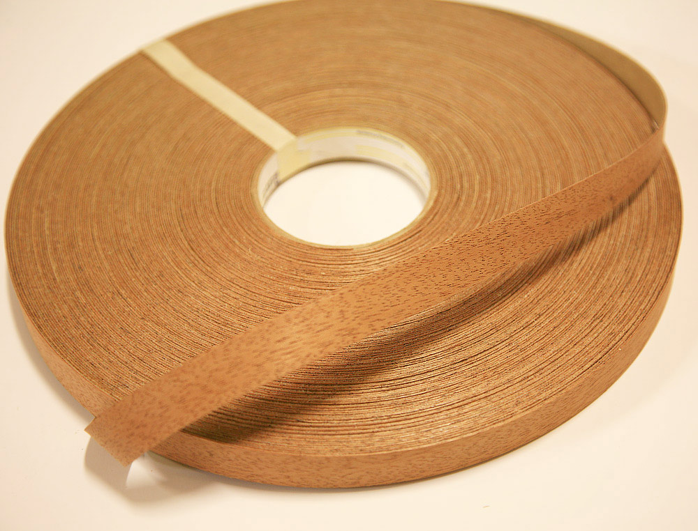 Mahogany Wood Edge Tape 13 16 X 250 Roll Woodworkers Source