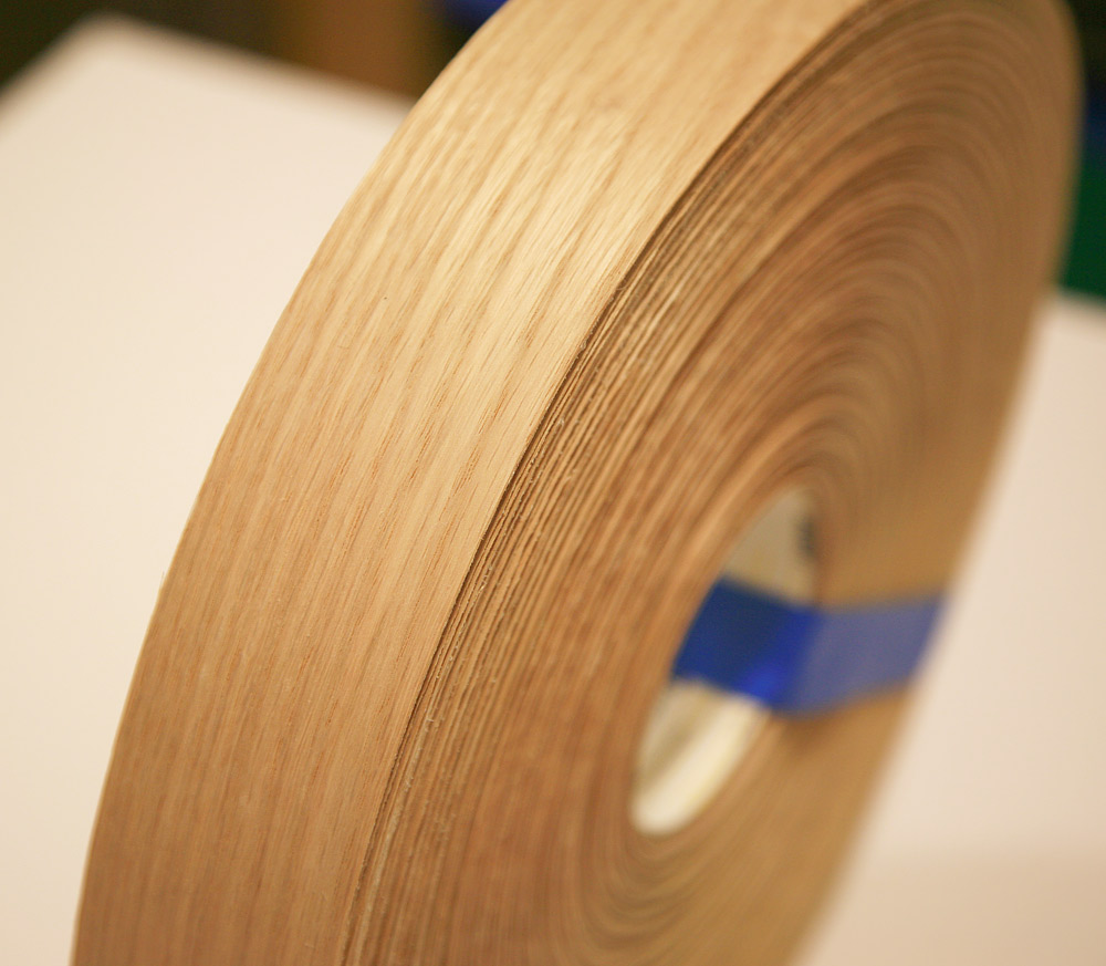 Red Oak Wood Edge Tape 2 X 250 Roll Woodworkers Source