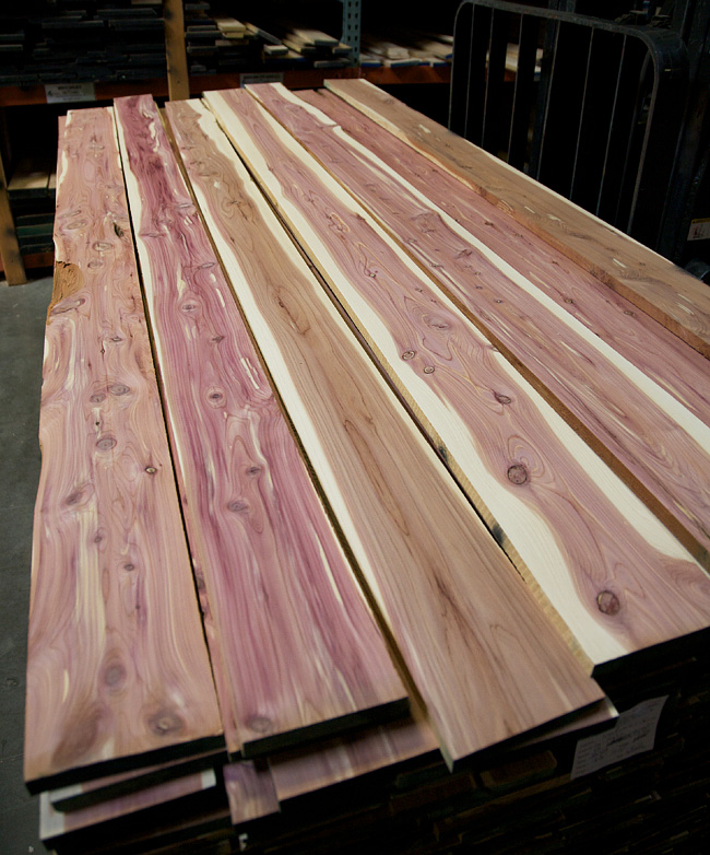 Cedar Aromatic 4/4 Lumber - Woodworkers Source