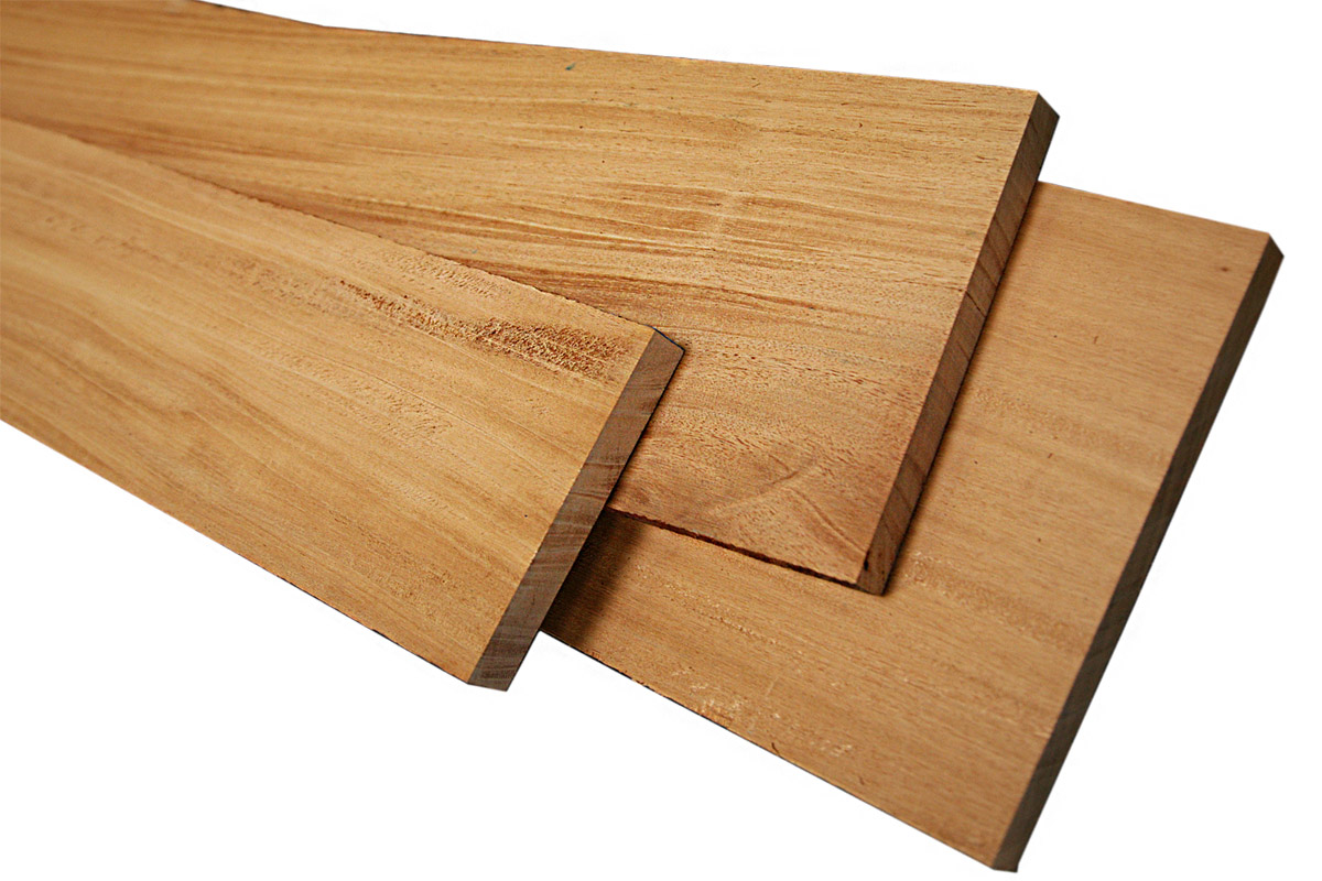 Mahogany Genuine 4/4 Craft Pack: 10 Board Feet