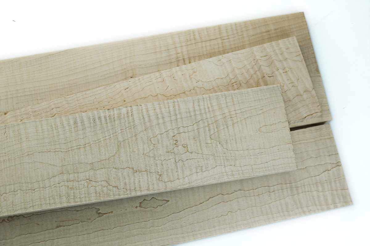 Curly Maple on sale for woodworkers