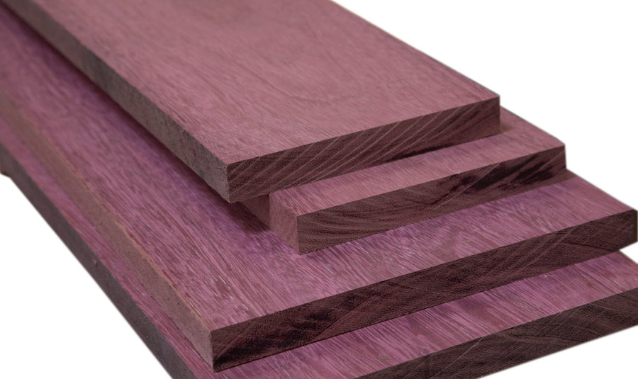 purple heart wood