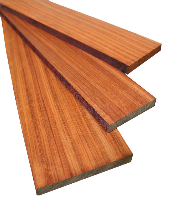 Padauk African 4/4 Project Pack: 20 Board Feet